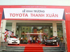 Toyota Thanh Xuân – Review về chính sách bán hàng của toyota Thanh Xuân