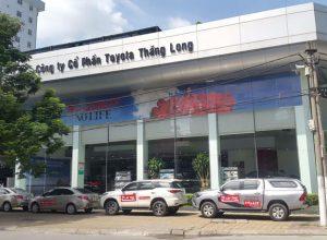 Toyota Thăng Long – Review về chính sách bán hàng của toyota thăng long