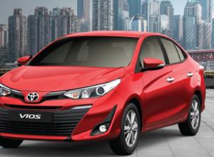 Cập nhập bảng giá xe Toyota Vios 2019