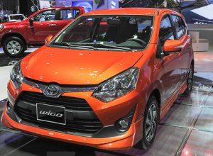 Cập nhập bảng giá của xe Toyota Wigo 2019
