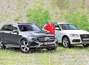 So sánh Mercedes GLC và Audi Q5 – Cuộc chiến ngang tài ngang sức