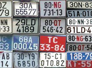 Danh sách biển số xe các tỉnh thành tại Việt Nam chi tiết nhất